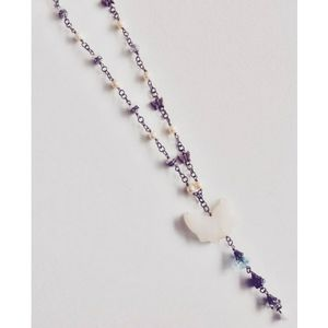 3 for $15 - Pearl and Butterfly Necklace